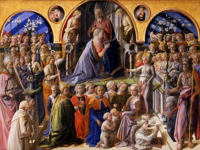 Коронование Марии. 1439–1447