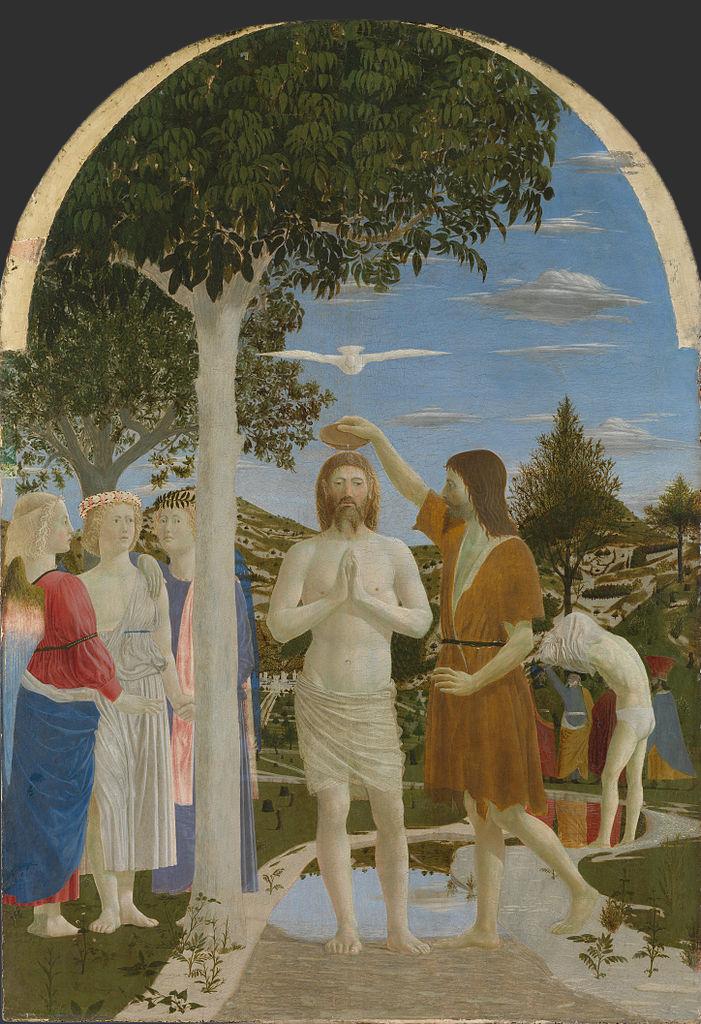 Крещение Христа. 1448–1450