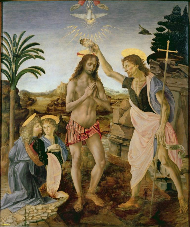 Крещение Христа. 1475–1478