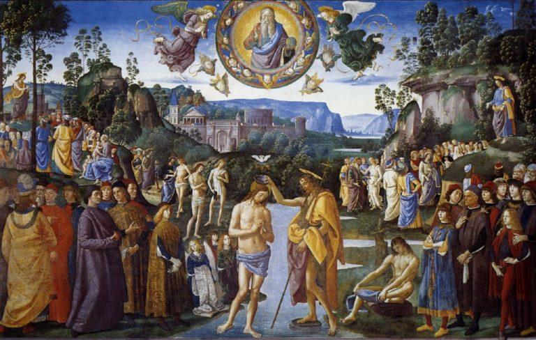 Крещение Христа. Ок. 1482