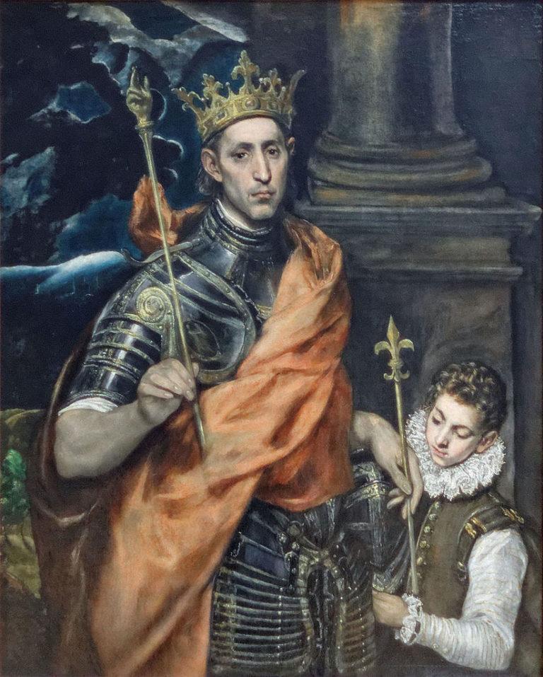Людовик IX Святой (1226-1270). XVI в.