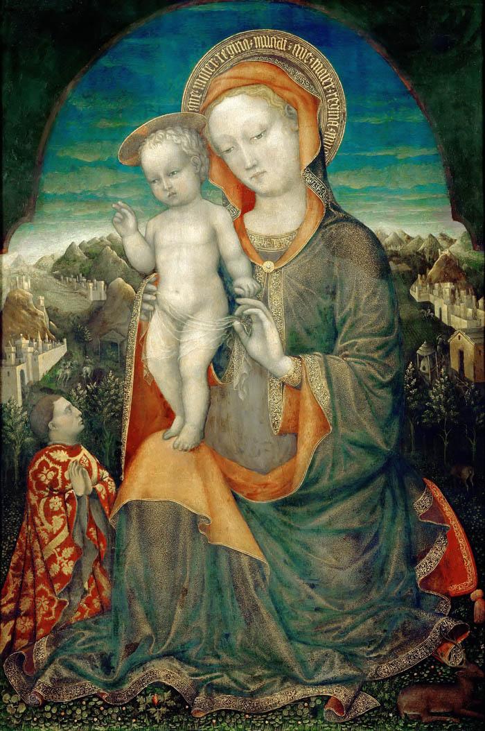 Мадонна Д'Эсте. Ок. 1440