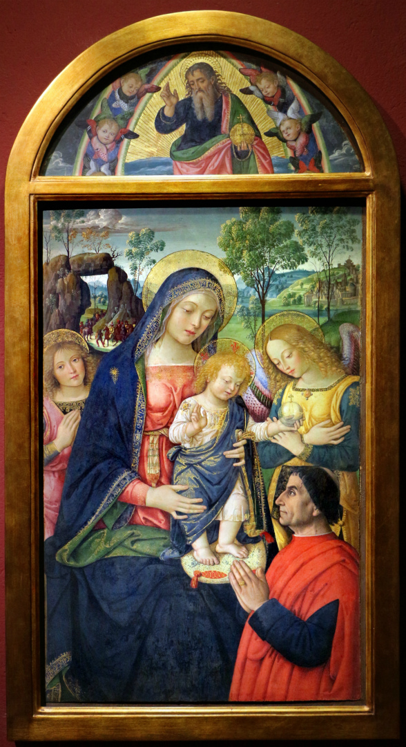 Мадонна Мира. Ок. 1490