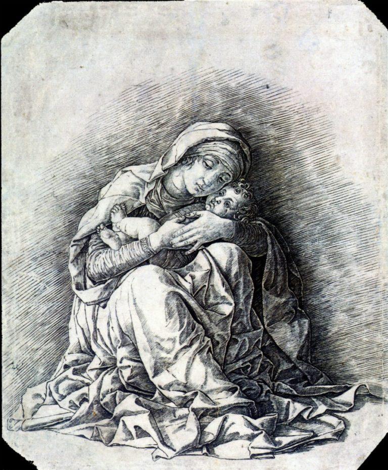 Мадонна Смирение. Ок. 1490