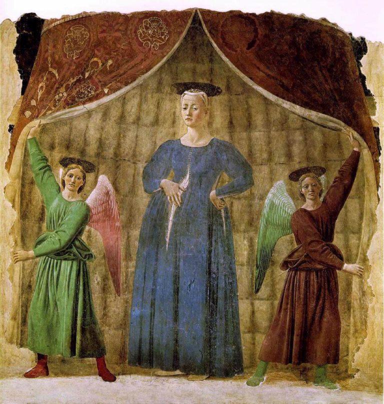 Мадонна дель Парто. Ок. 1460