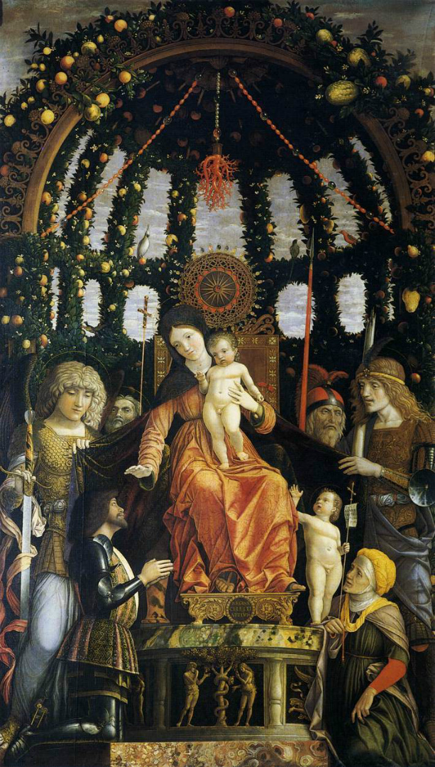 Мадонна делла Виттория. 1496