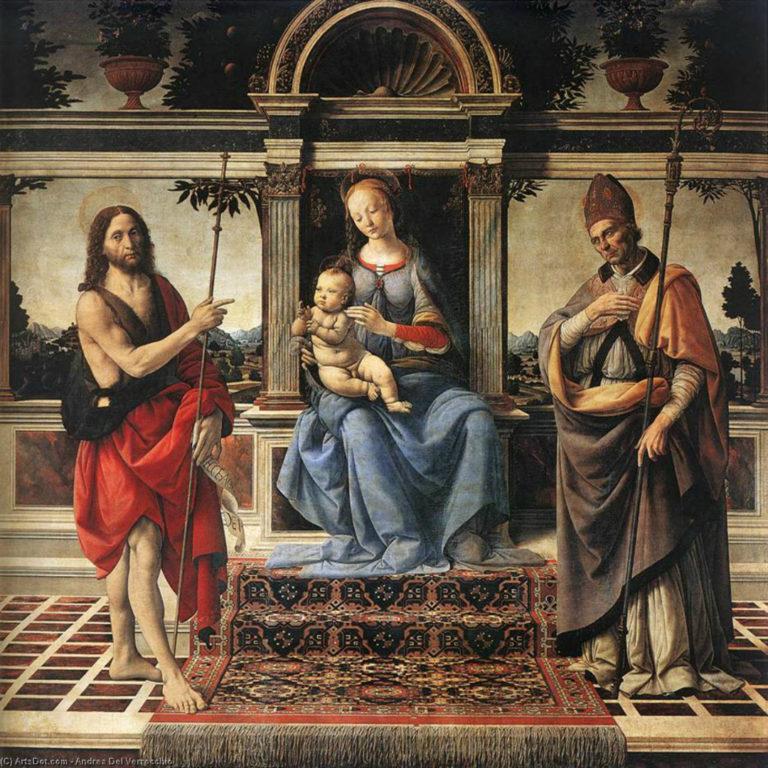 Мадонна ди Пьяцца. 1474–1486