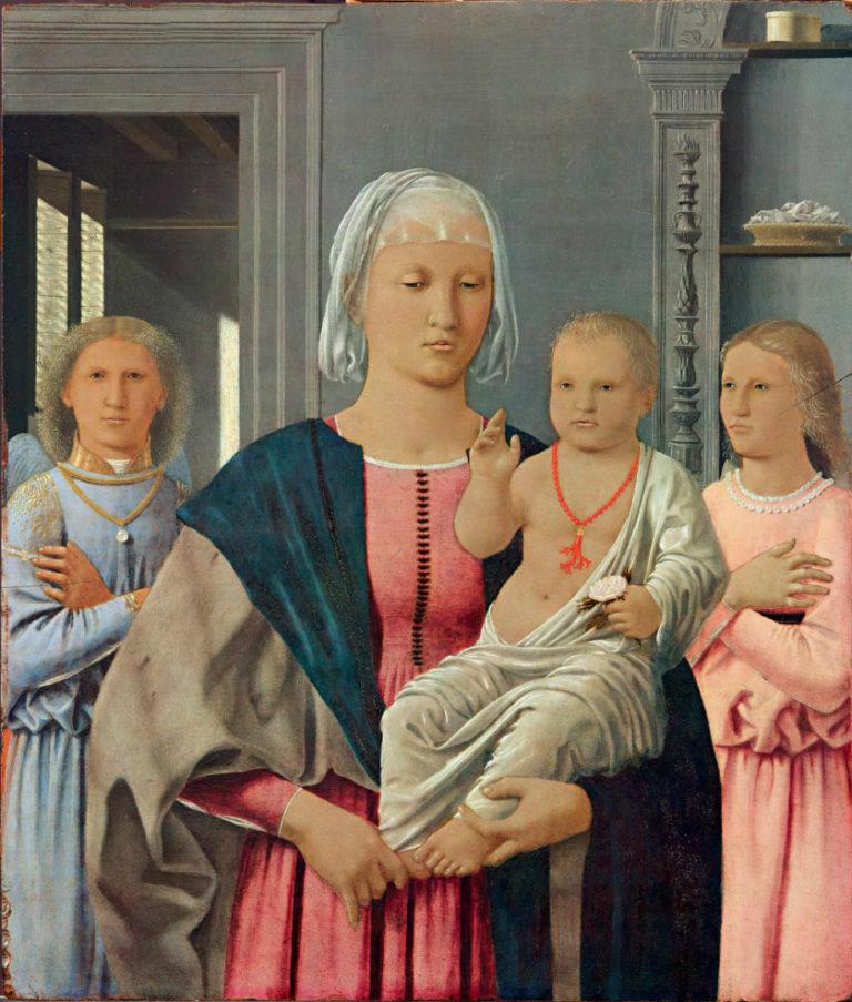 Мадонна ди Сенигаллия. Ок. 1474