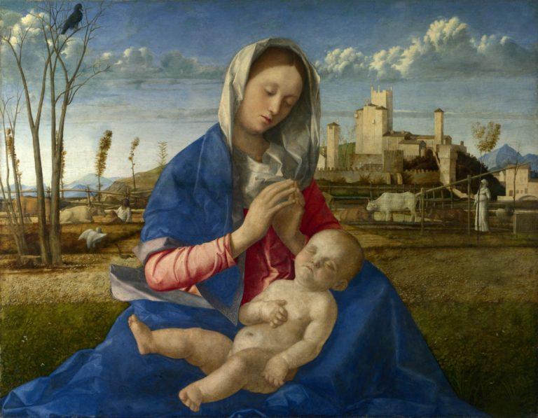 Мадонна на лугу. Ок. 1505