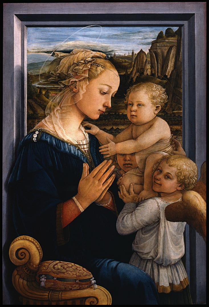 Мадонна под вуалью. 1460–1465