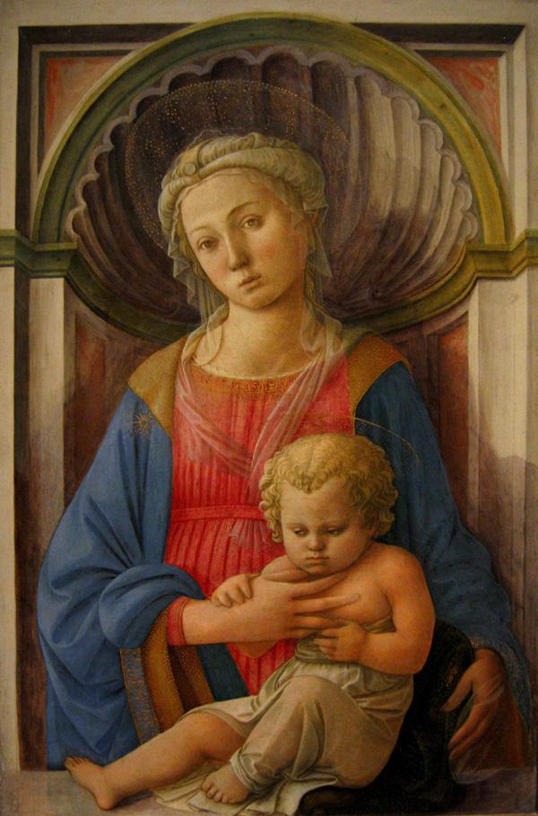 Мадонна с Младенцем. 1440–1445