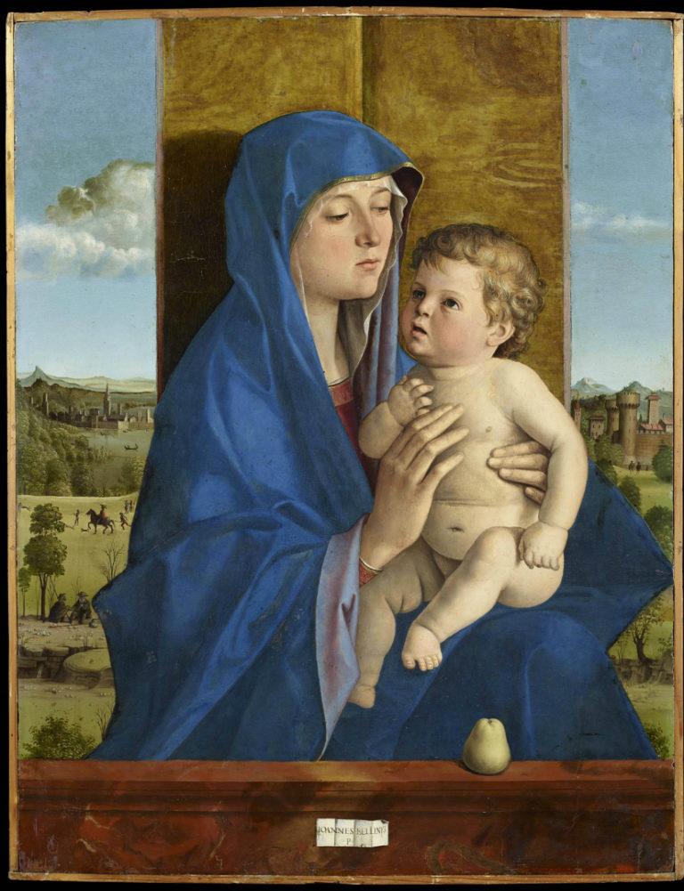Мадонна с Младенцем. 1483
