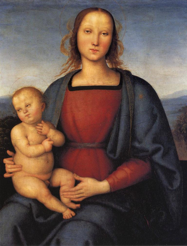 Мадонна с Младенцем. 1500