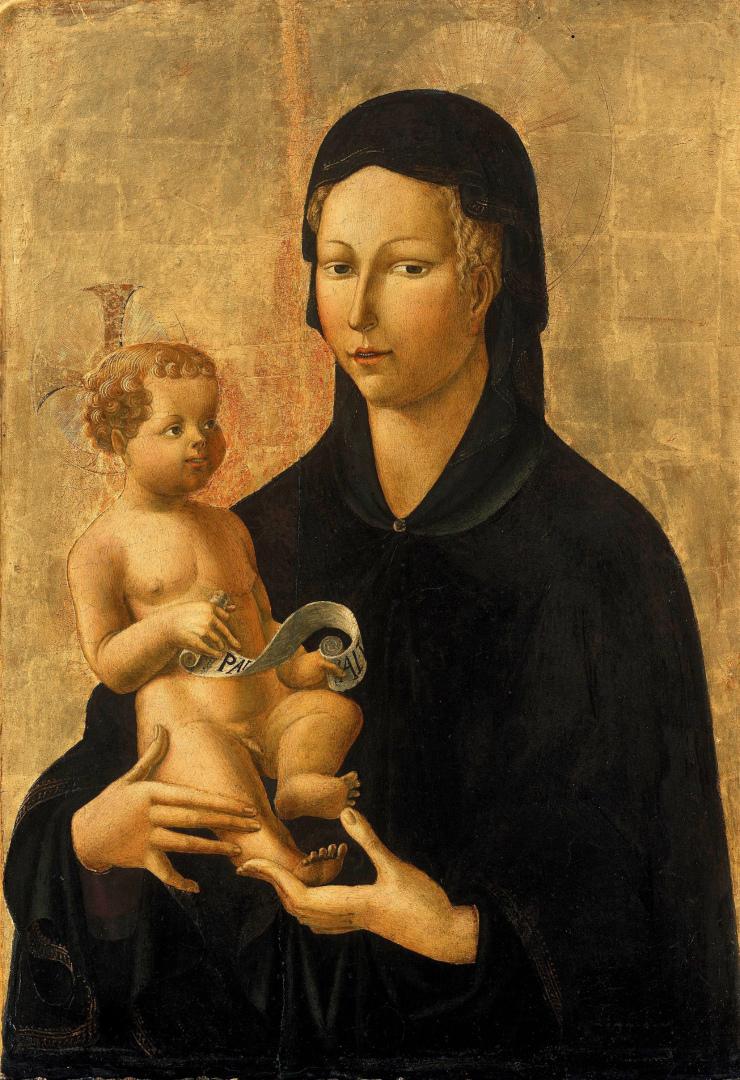 Мадонна с Младенцем. Ок. 1450–1460