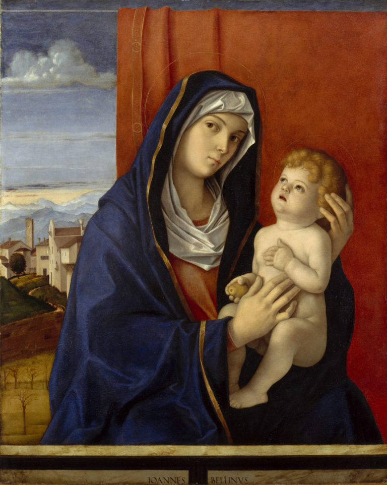 Мадонна с Младенцем. Ок. 1480