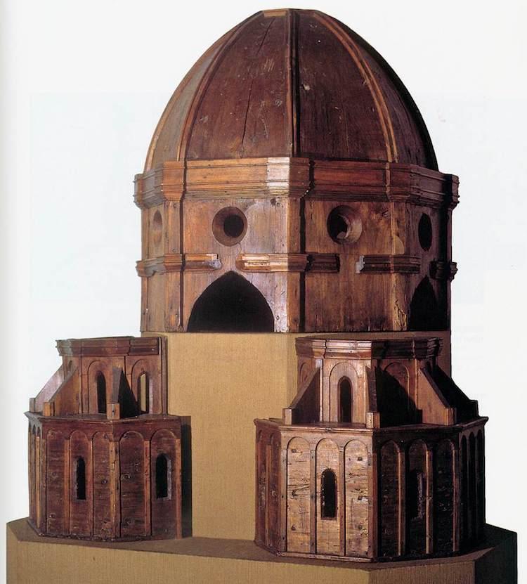 Модель купола собора Санта Мария дель Фьоре. 1418–1419