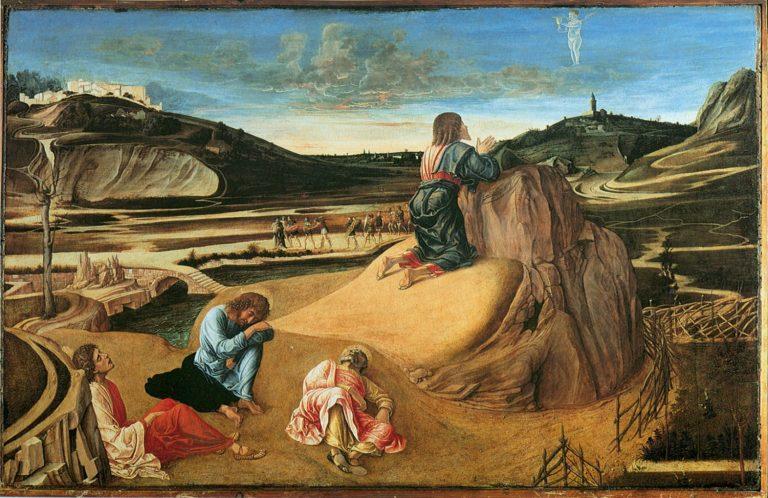 Моление о чаше. Ок. 1455