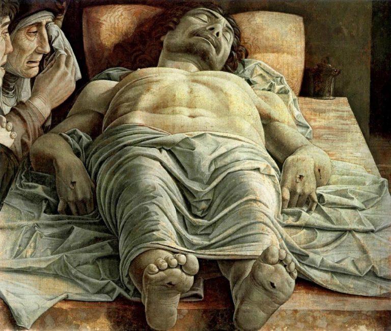 Мёртвый Христос. Ок. 1475–1478