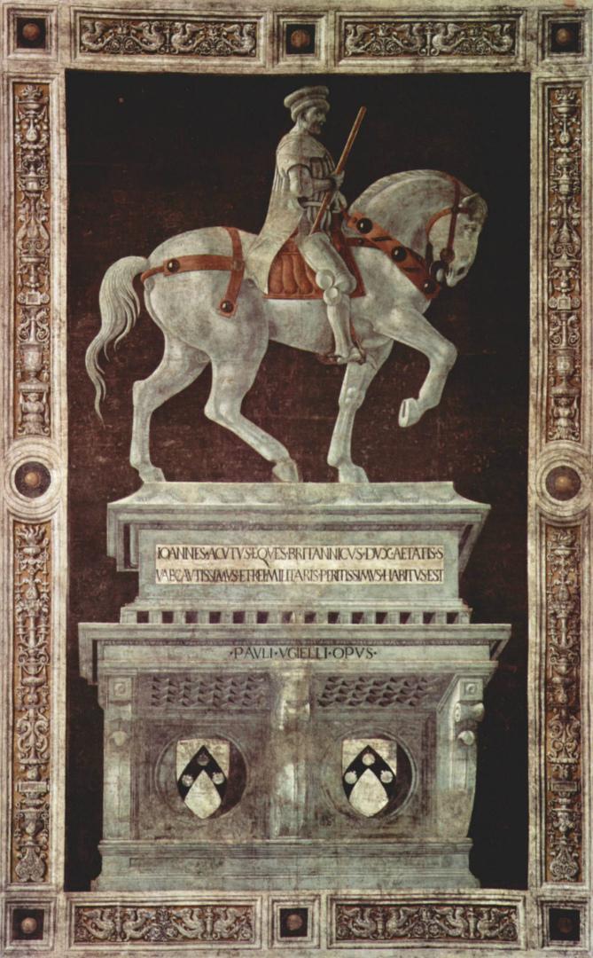 Надгробный памятник Джону Хоквуду. 1436