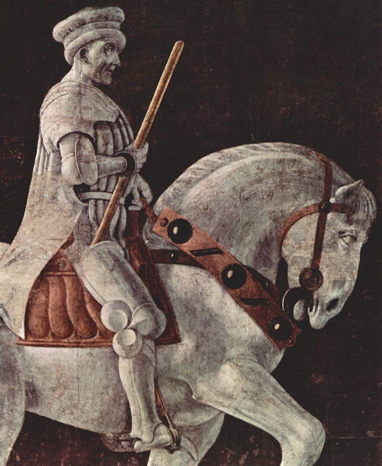 Надгробный памятник Джону Хоквуду. Фрагмент. 1436
