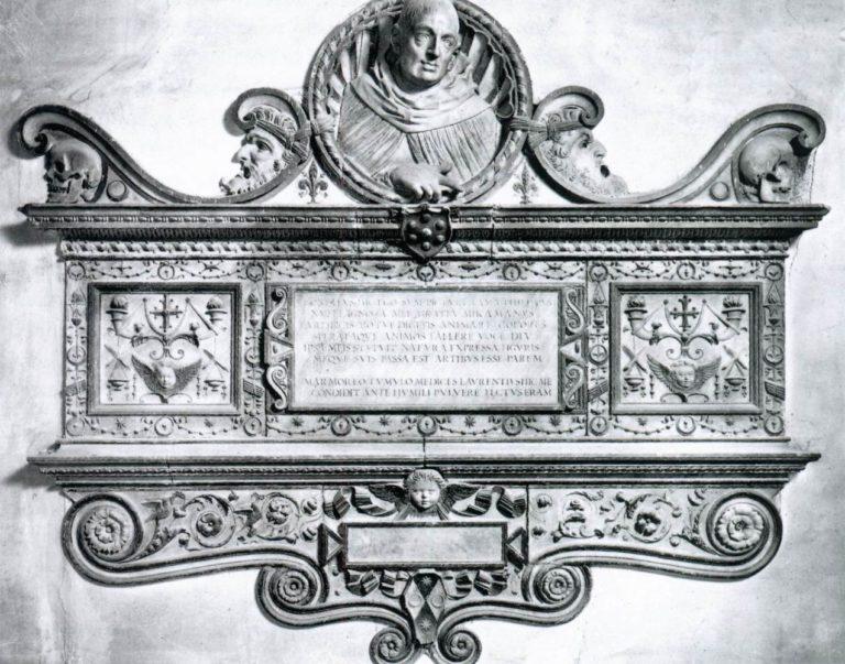 Надгробный памятник Филиппо Липпи. Ок. 1490