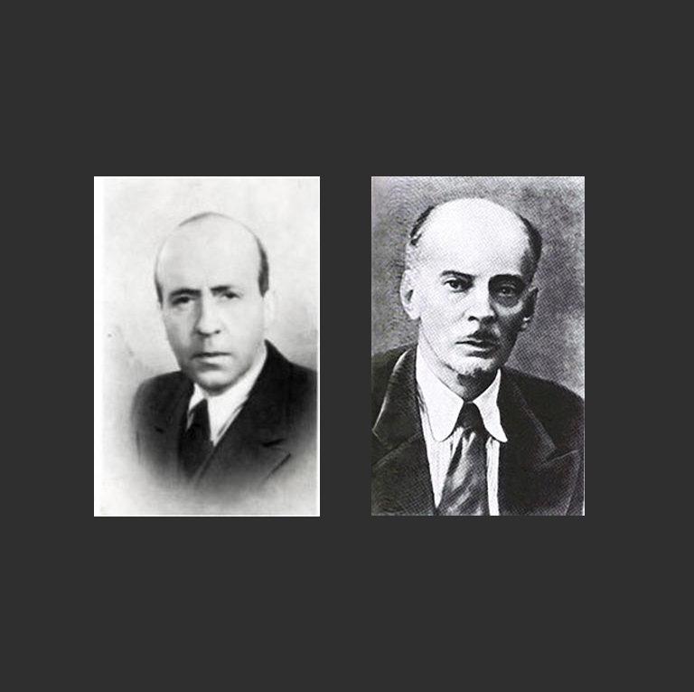 Николай Авдеевич Оцуп (1894–1958) и Сергей Константинович Маковский (1877—1962)