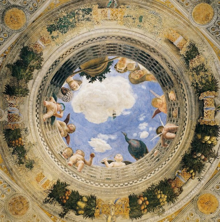 Плафон Камеры дельи Спози. 1465–1474