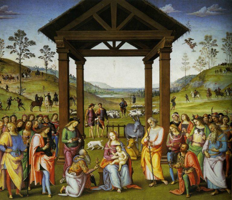 Поклонение волхвов. 1504