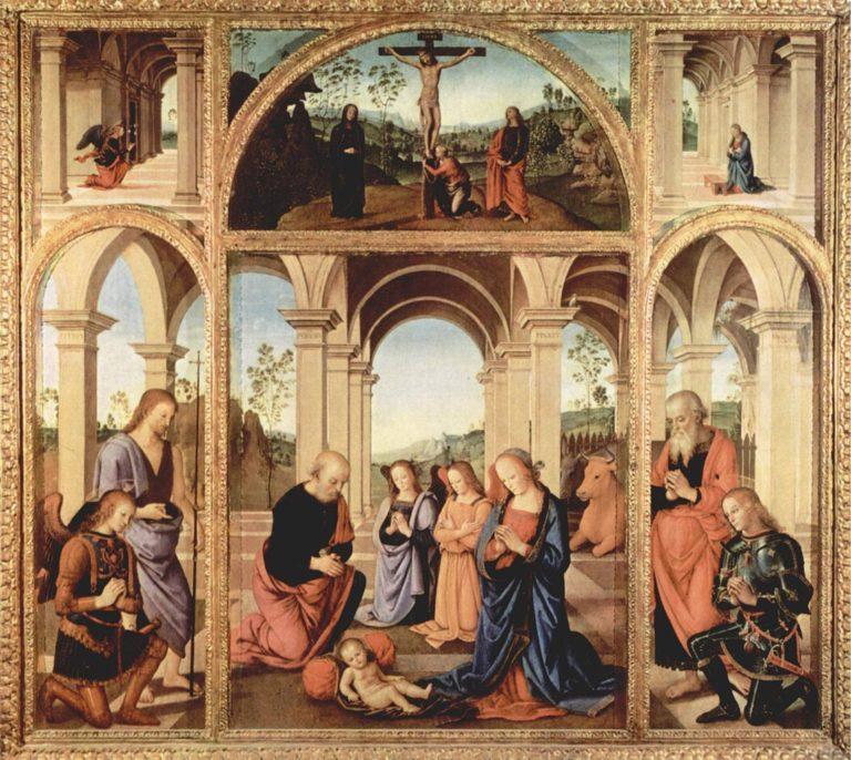 Полиптих Албани Торлония. 1491