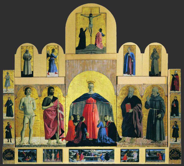 Полиптих Милосердия. 1445–1462