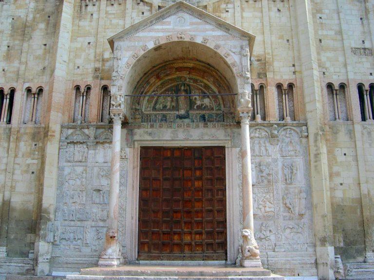 Портал церкви Сан-Дзено Маджоре, Верона