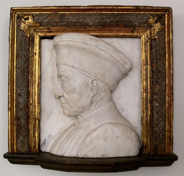 Портрет Козимо Медичи. Ок. 1464