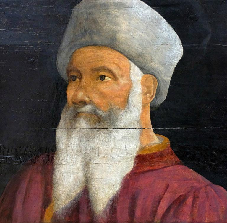 Портрет Паоло Уччелло. Фрагмент картины «Пять мастеров флорентийского Возрождения». 1490–1550