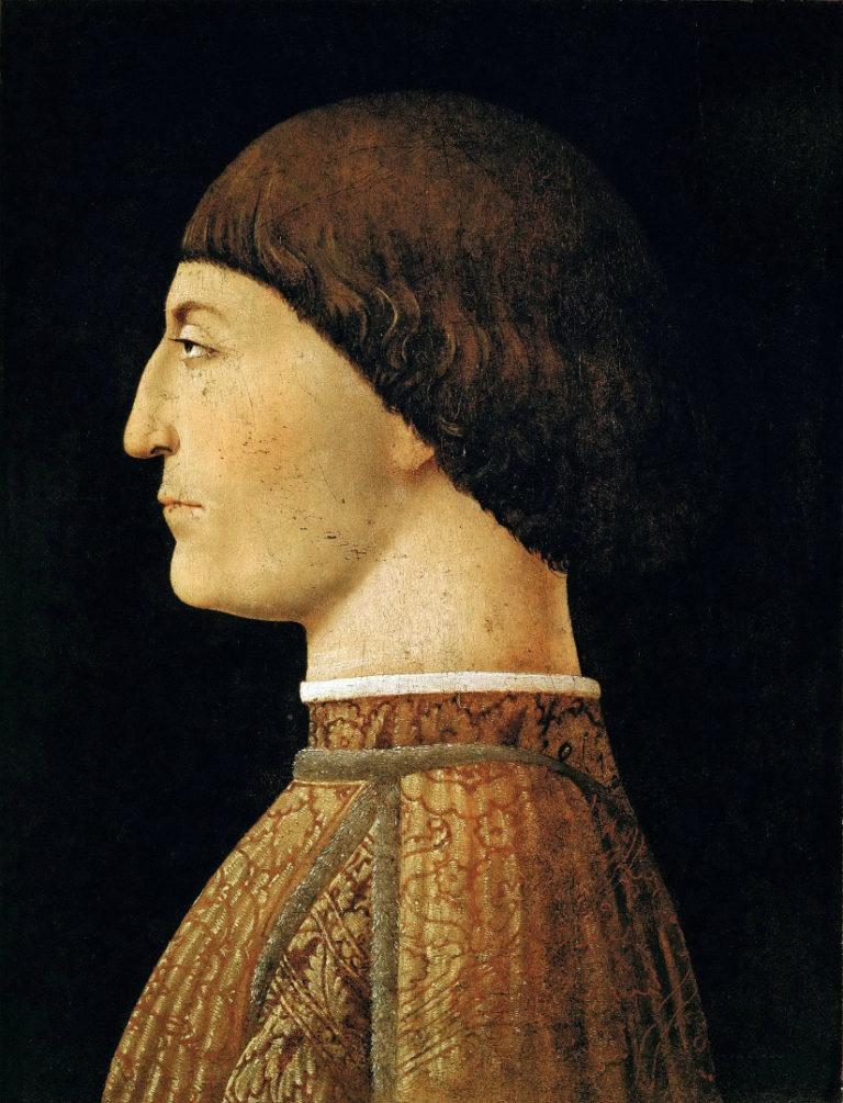 Портрет Сиджизмондо Малатеста. Ок. 1451
