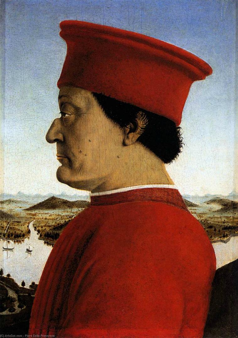 Портрет герцога Федерико да Монтефельтро. 1465–1472