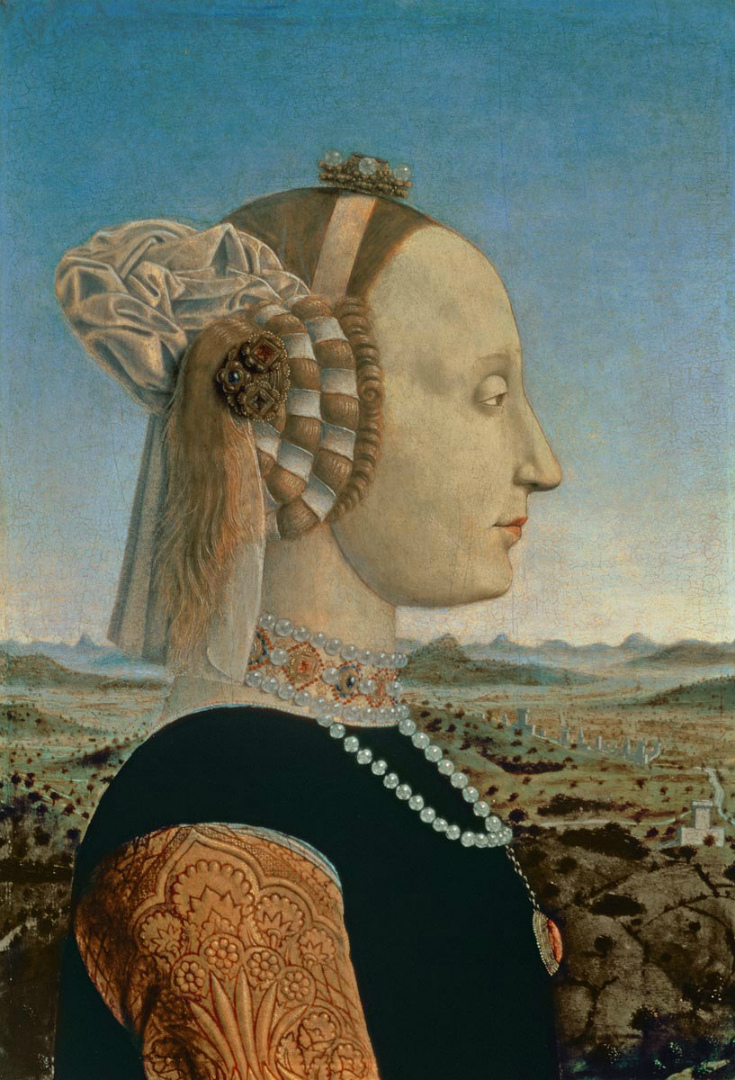 Портрет герцогини Баттисты Сфорца. 1465–1472