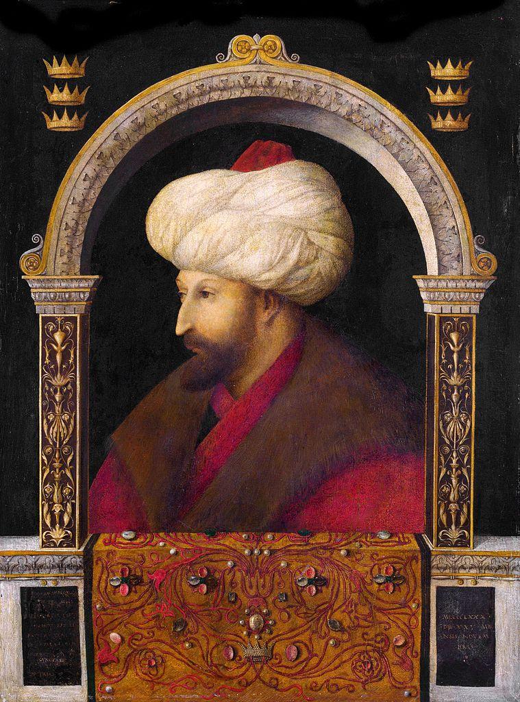 Портрет султана Мехмеда II. 1480