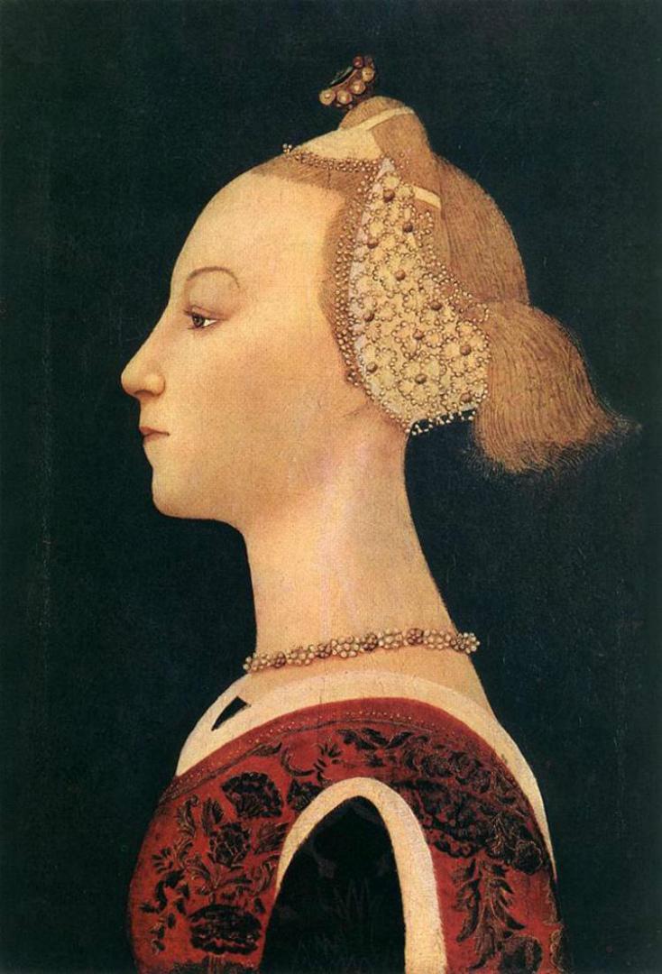 Портрет юной дамы. Ок. 1450
