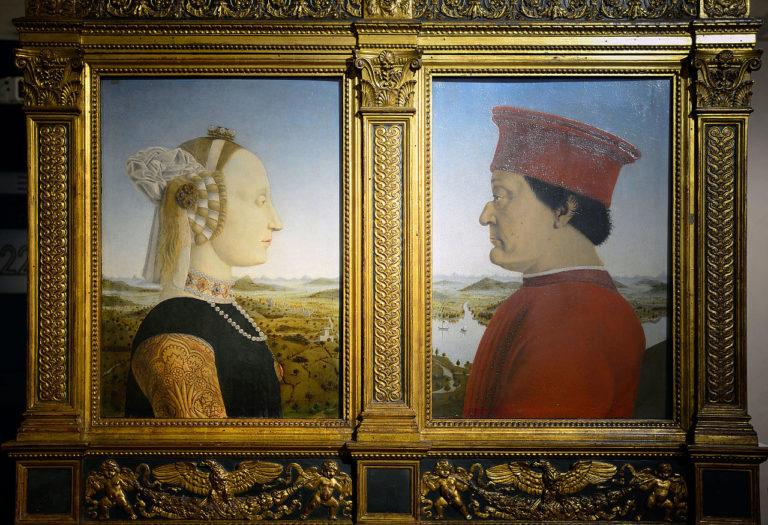 Портреты герцога Федерико да Монтефельтро и герцогини Баттисты Сфорца. 1465–1472