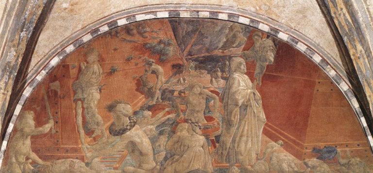 Потоп и Ноев ковчег. Ок. 1447