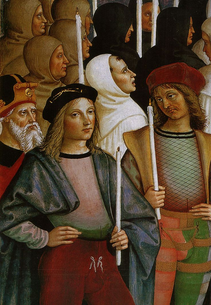 Предполагаемые портреты Рафаэля и Пинтуриккио. 1502–1507