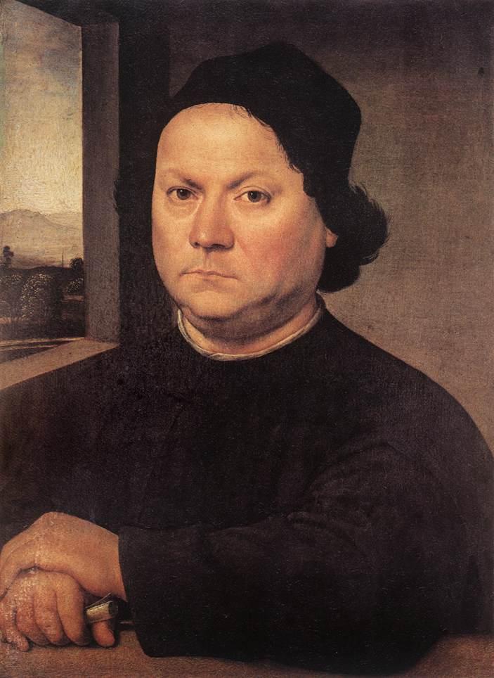 Предполагаемый портрет Андреа дель Верроккьо. Ок. 1505