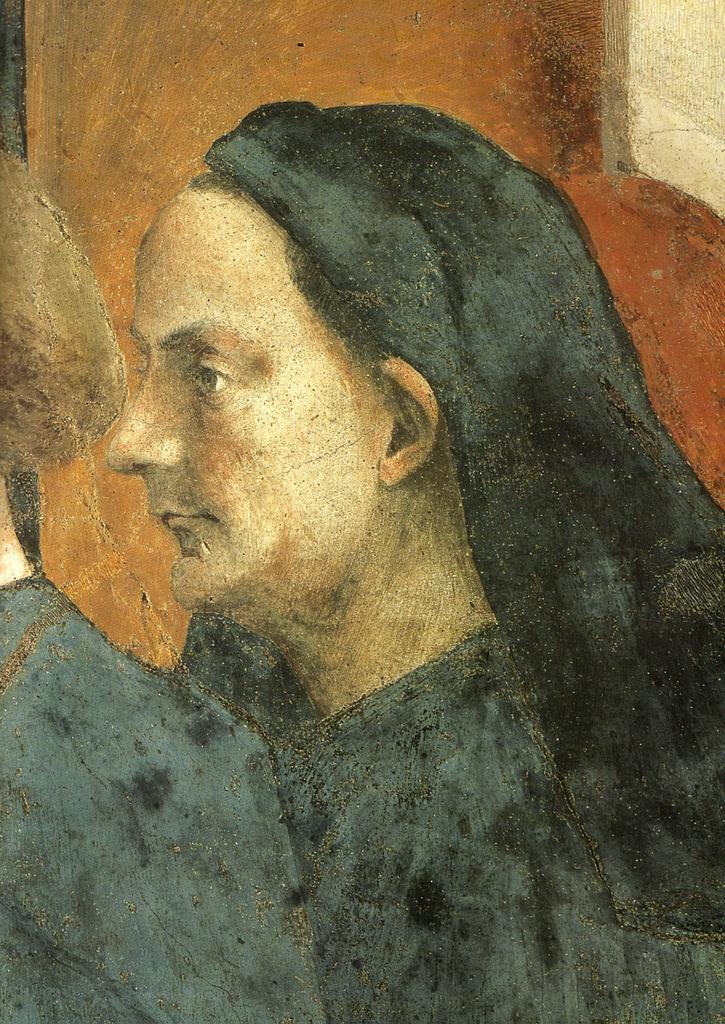 Предполагаемый портрет Филиппо Брунеллески. 1427–1428