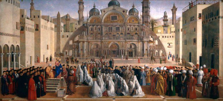 Проповедь святого Марка в Александрии. 1504–1507