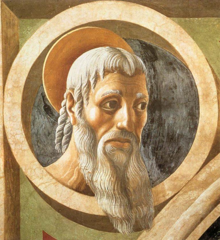 Пророк. Фрагмент росписи часов в соборе Санта Мария дель Фьоре. Ок. 1443
