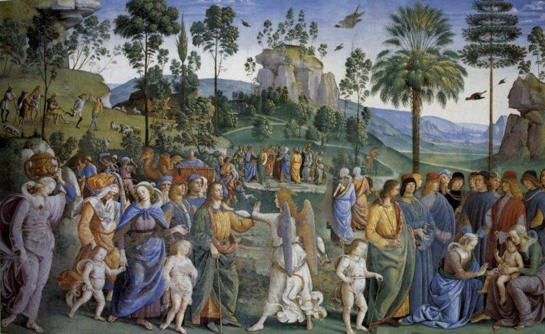 Путешествие Моисея. Ок. 1482