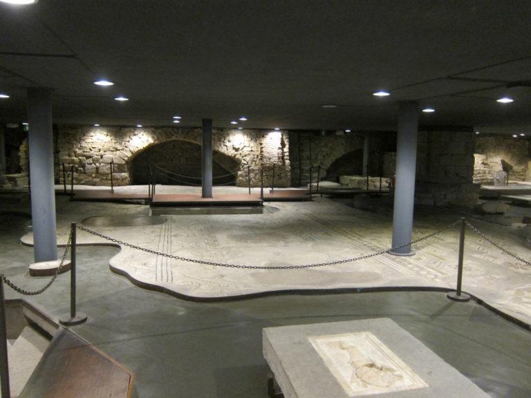Раскопки собора Святой Репараты