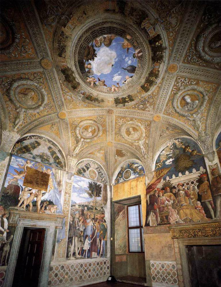 Роспись Камеры дельи Спози. 1465–1474