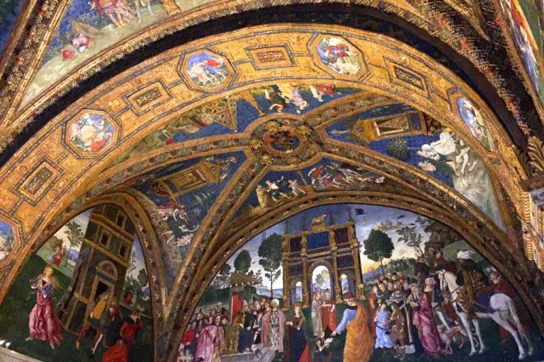 Роспись Зала святых. 1492–1494