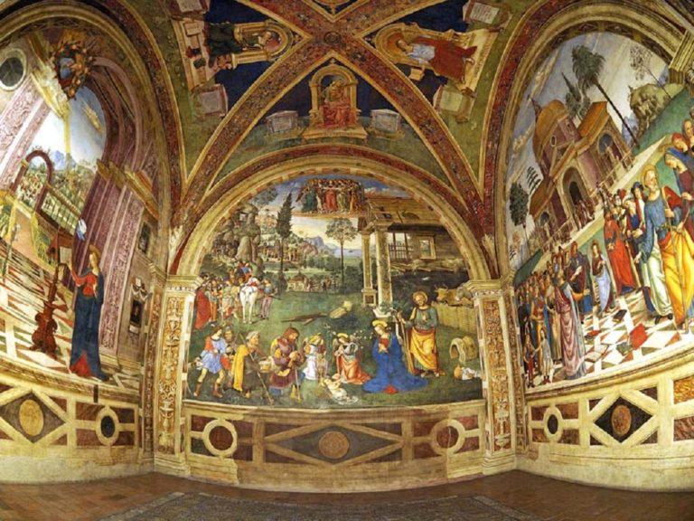 Роспись капеллы Бальони. Ок. 1501